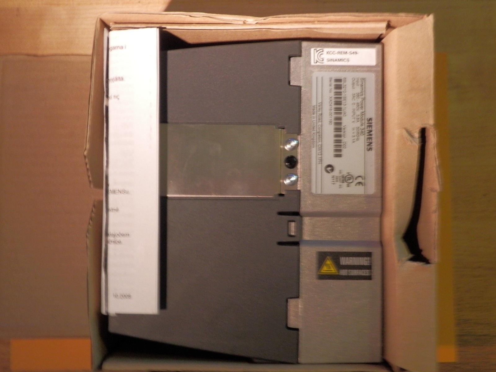 6SL3210-1SE21-8UA0 Siemens Inverter S120 G120 G130